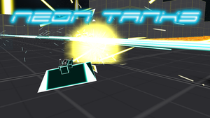Neon Tanks: GameJolt Thumbnail by Arsanthania