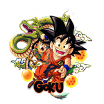 Goku popout by johnnygatthird