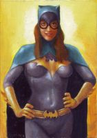 Batgirl card 472 by charles-hall