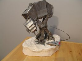 AT-AT Attack by RuusaarCin