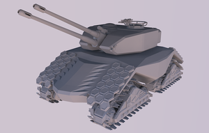 clay tank by CadianConcript