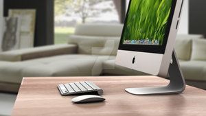iMac render by killdemsound
