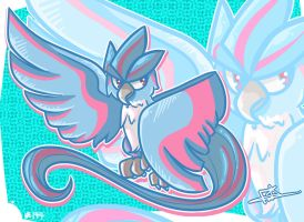 #144 Articuno by BubblegumBloo