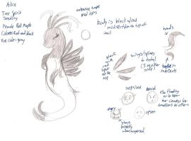 Alice - Tree Spirit Ref Sheet by SEMC