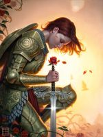 Rose Red by DSillustration
