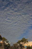 Clouds over Manhatten Beach by Mortitia212