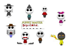 My Puppet Master Psy-Cons by PsyConTom