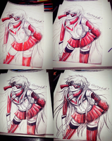 Shiroba - Step by Step Traditional - DMmd by KiraiRei