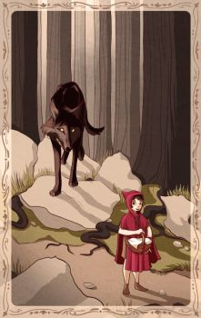 Little Red Riding Hood by charlietramp