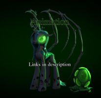 3d Queen Chrysalis Turntable by Temporal333