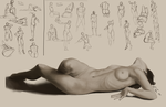 Figure Studies by Llourn