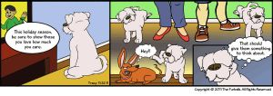 Furballed: Bo Shows Some Love by twiggy-trace