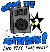 Unplug The Speakers... by timmywheeler