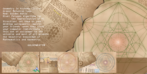 Geometry and Alchemy Wallpaper by lipid-fatality