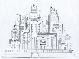 Spore: City by TTFTCUTS