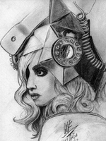 Lady Gaga - Telephone by BulimicVampire