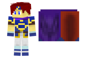 Roy (SSBM) Minecraft Skin (With Download) by ArchdukeQWA