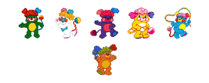 Popples pack 01 by hprune
