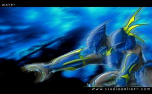 Water Elemental by siamgxIMA