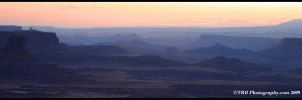Sunrise, Buck Canyon Overlook by TRBPhotographyLLC
