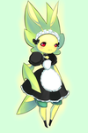 Leavanny maid by Joltik92