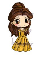 Belle Chibi by IcyPanther1
