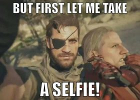 Big Boss' Selfie with Ocelot by tanlisette