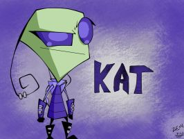 Kat- A Commission by InvaderZiE