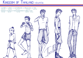 APH: Kingdom of Thailand by wolf-zaa