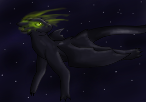 Toothless -Gift- by NiflheimCrow