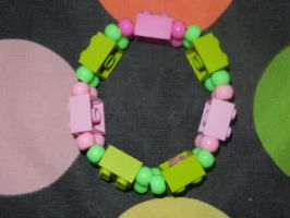 Pink and Green lego by murderscene6