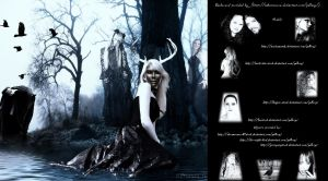 Mystic Forest_a Gothic Deviation by_KYghost by KYghost