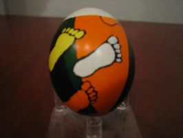 Ukranian Easter Egg: Feet by Know-The-Ropes