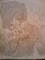 Andy Six Wet Paint by AngstyCami