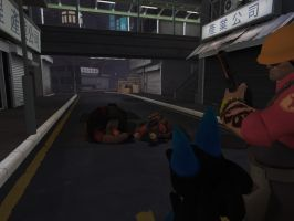 Were awsome killers but... the dog dont like gore by Tforcethegreat