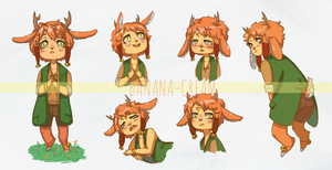 Faun boy [CLOSED] by bruisedbanana