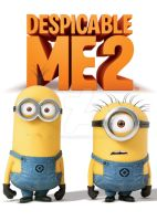 Despicable Me 2 Official DVD Cover (Pre - Orden) by ABToons