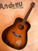 Acoustic guitar by Sprayter
