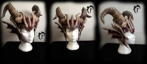 Dracolich crown by Feral-Workshop