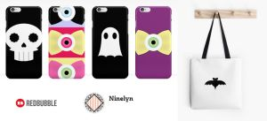 Halloween Goods on Redbubble by Ninelyn