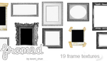 Textures : 19 Photo Frames by Keoni-chan