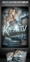 Kreativ Kandi PSD Flyer Template by ImperialFlyers