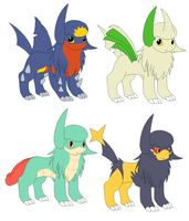 Absol adopts by DappleFeather