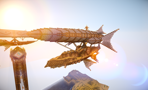 My Airship With Shaders by CW390