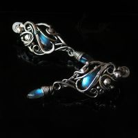 EVELINTHIUM  - silver and labradorite by LUNARIEEN