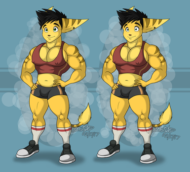 Spike Gym Outfit by RatchetJak