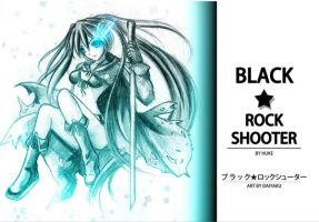 Black Rock Shooter fanart by Daiyaku