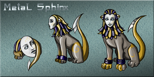 Squiby - Metal Sphinx by Chimajra