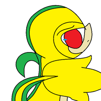 snivy reverse -updated- by luisbonilla
