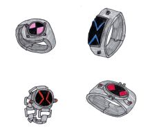Omnitrix Designs by Sonic-vs-Crash